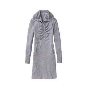 Athelta Gray Cozy Up Dress